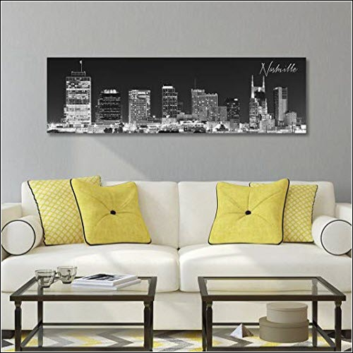 Nashville Skyline Print What's Cookin' Mercantile