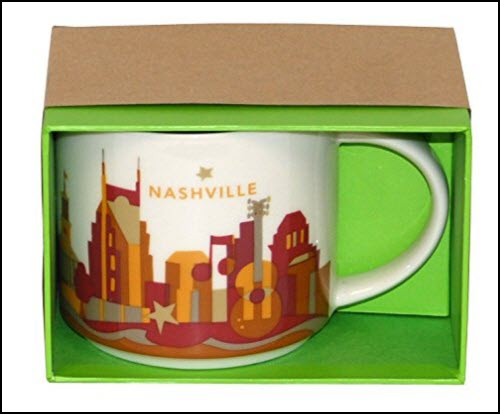 Nashville Starbuck Coffee Mug What's Cookin' Mercantile