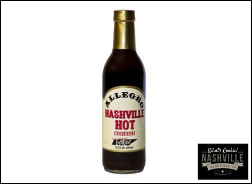 Allegro Nashville Hot Marinade What's Cookin' Nashville