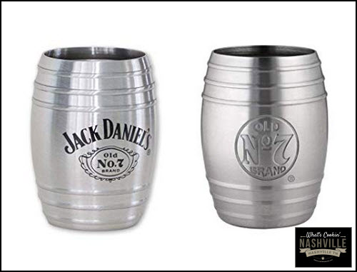 Jack Daniel's Barrel Shotglasses What's Cookin' Mercantile