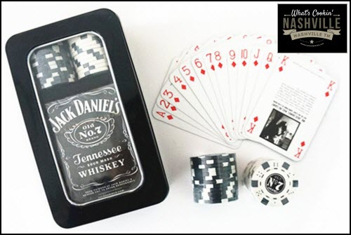 Jack Daniel's Playing Cards and Playing Chips