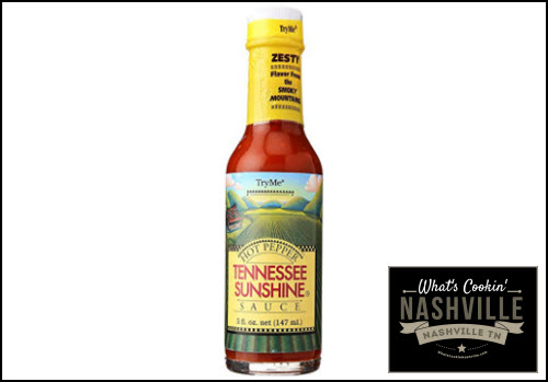 Tennessee Sunshine Hot Pepper Sauce What's Cookin' Nashville